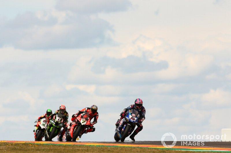 Alex Lowes, Pata Yamaha, Chaz Davies, Aruba.it Racing-Ducati Team