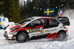 Ott Tänak, Martin järveoja, Toyota Gazoo Racing, Toyota Yaris WRC 2019