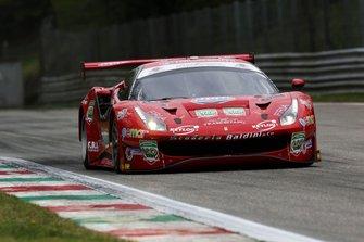 #27 Ferrari 488 Evo 27 GT3 PRO, Scuderia Baldini: Fisichella-Gai-Villeneuve