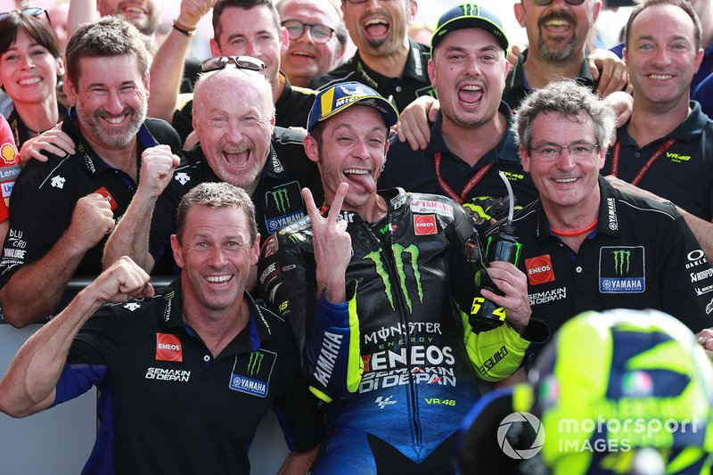 Valentino Rossi, Yamaha Factory Racing Race, secondo classificato