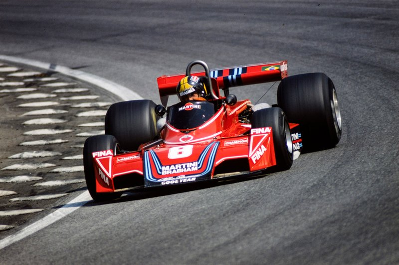 José Carlos Pace - de 1972 a 1977 - 72 corridas - 1 vitória