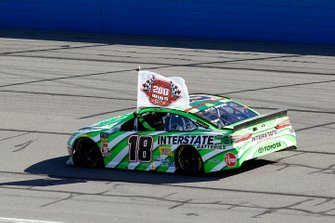 Race Winner Kyle Busch, Joe Gibbs Racing, Toyota Camry Interstate Batteries