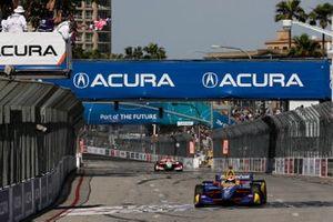 Il vincitore della gara Alexander Rossi, Andretti Autosport Honda