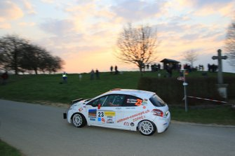 Cédric Althaus, Lisiane Zbinden, Ford Fiesta R5, Lugano Racing Team