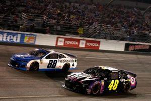 Jimmie Johnson, Hendrick Motorsports, Chevrolet Camaro Ally Alex Bowman, Hendrick Motorsports, Chevrolet Camaro Nationwide