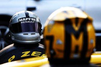 Il casco di Daniel Ricciardo, Renault F1 Team