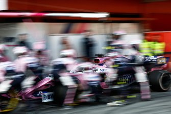 Sergio Perez, Racing Point F1 Team RP19 au stand