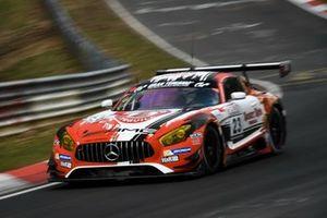 #23 GetSpeed Performance Mercedes-AMG GT3: Janine Hill, John Shoffner, Fabian Schiller