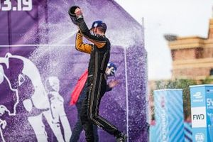 Jean-Eric Vergne, DS TECHEETAH, 1st position, celebrates on the podium