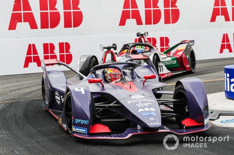 Robin Frijns, Envision Virgin Racing, Audi e-tron FE05, Lucas Di Grassi, Audi Sport ABT Schaeffler, Audi e-tron FE05