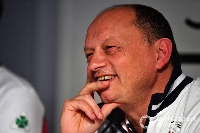Frederic Vasseur, Alfa Romeo Racing, Team Principal