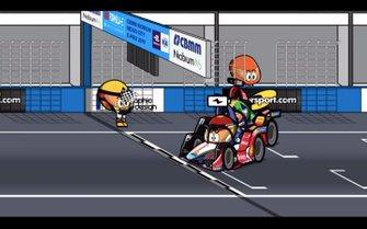 El final de la carrera de México, por MinEDrivers