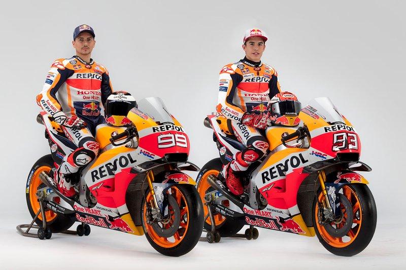 Marc Marquez e Jorge Lorenzo, Repsol Honda Team
