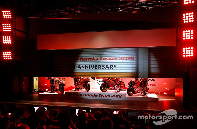 Presentación Repsol Honda Team