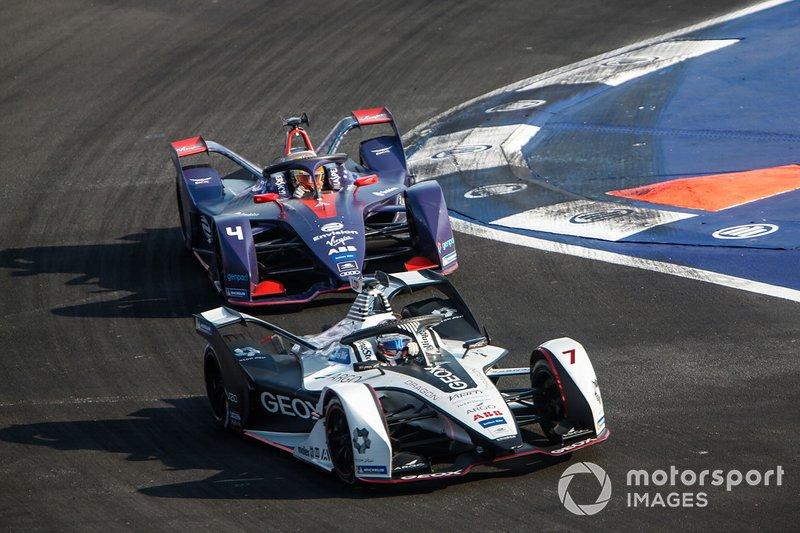 Jose Maria Lopez, Dragon Racing, Penske EV-3 Robin Frijns, Envision Virgin Racing, Audi e-tron FE05