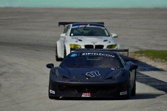 #117 MP1A Ferrari 458 GT3 driven by Kevin Moniz of SCC Motorsport