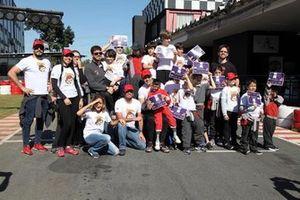 Crianças da Tuka Rocha Racing School