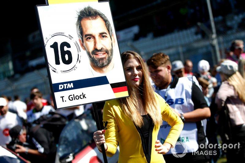Grid girl di Timo Glock, BMW Team RMG
