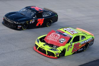 Mike Harmon, Mike Harmon Racing, Chevrolet Camaro, Brandon Jones, Joe Gibbs Racing, Toyota Supra Menards/Atlas