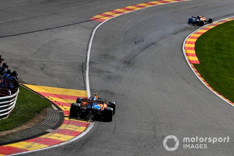 McLaren тренирует слипстрим на второй практике