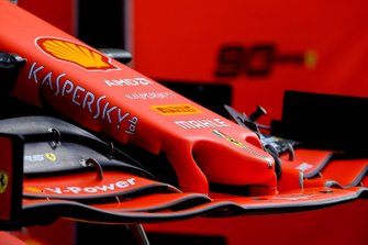 Ferrari SF90 front nose detail
