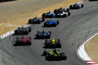 Graham Rahal, Rahal Letterman Lanigan Racing Honda, Marcus Ericsson, Arrow Schmidt Peterson Motorsports Honda