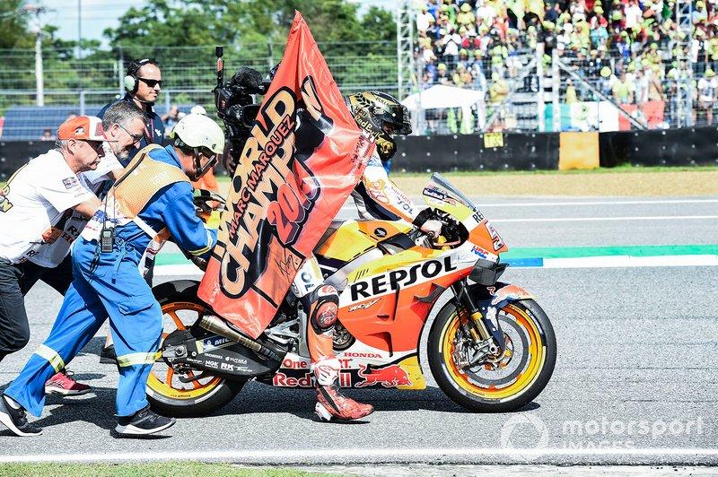 Il Campione del Mondo Marc Marquez, Repsol Honda Team