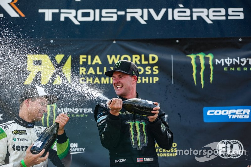 Winner Andreas Bakkerud, Monster Energy RX Cartel