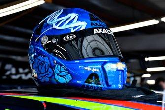 Casco de Alex Bowman, Hendrick Motorsports, Chevrolet Camaro Axalta