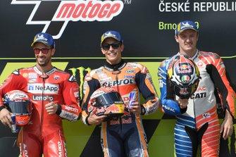 Podium: 1. Marc Marquez, 2. Andrea Dovizioso, 3. Jack Miller
