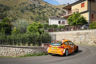 Симоне Кампеделли и Таня Кантон, Orange 1 M-Sport Rally Team, Ford Fiesta R5