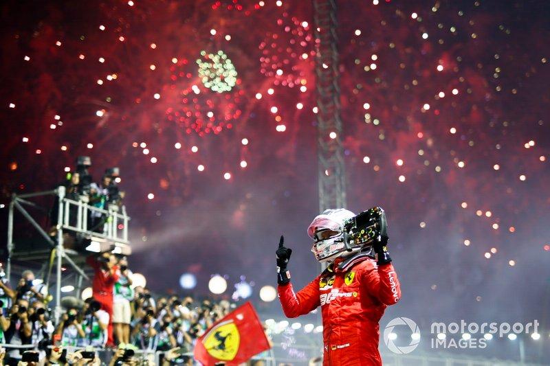 Sebastian Vettel - 14 victorias con Ferrari
