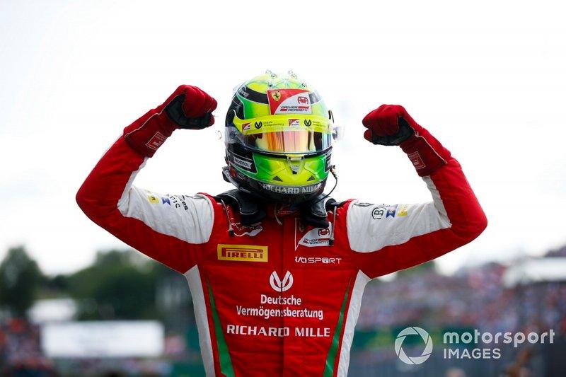 Il vincitore della gara Mick Schumacher, Prema Racing