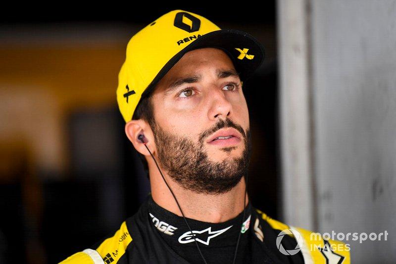Daniel Ricciardo avisa de un posible problema