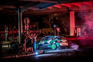 Mikołaj Marczyk, Szymon Gospodarczyk, Skoda Fabia R5, Barum czech Rally Zlin, FIA eRC