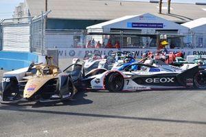 Jose Maria Lopez, Dragon Racing, Penske EV-3 fa un testacoda contro Andre Lotterer, DS TECHEETAH, DS E-Tense FE19