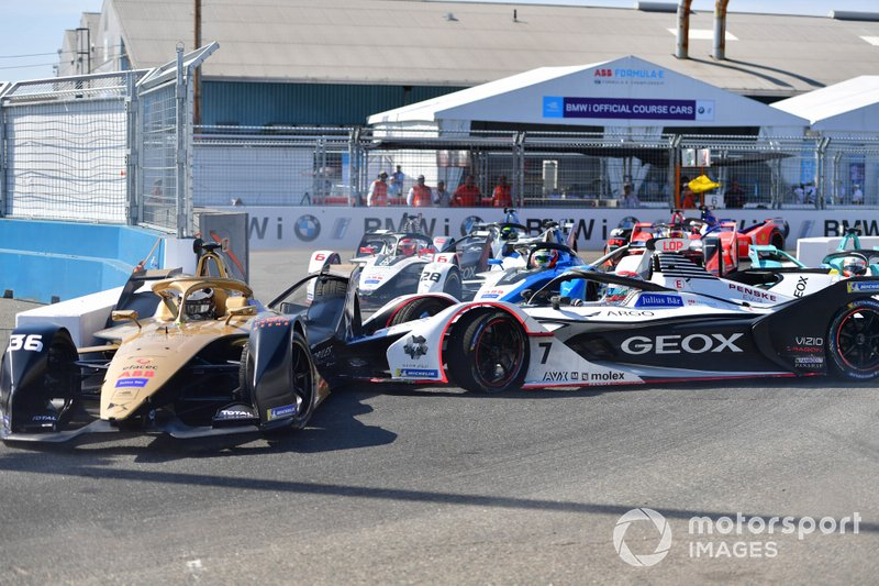 Jose Maria Lopez, Dragon Racing, Penske EV-3, Andre Lotterer, DS TECHEETAH, DS E-Tense FE19