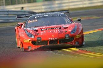 #444 HB Racing Ferrari 488 GT3: Florian Scholze, Andrzej Lewandowski, Jens Liebhauser, Wolfgang Triller