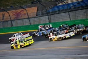 Matt Crafton, ThorSport Racing, Ford F-150 Great Lakes Wood Floors/ Menards Sheldon Creed, GMS Racing, Chevrolet Silverado Chevrolet Accessories Tyler Ankrum, DGR-Crosley, Toyota Tundra Academy Sports + Outdoors / RAILBLAZA