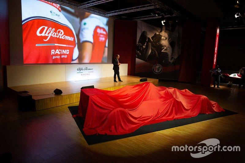 Livrea dell'Alfa Romeo Racing C38 per Monza