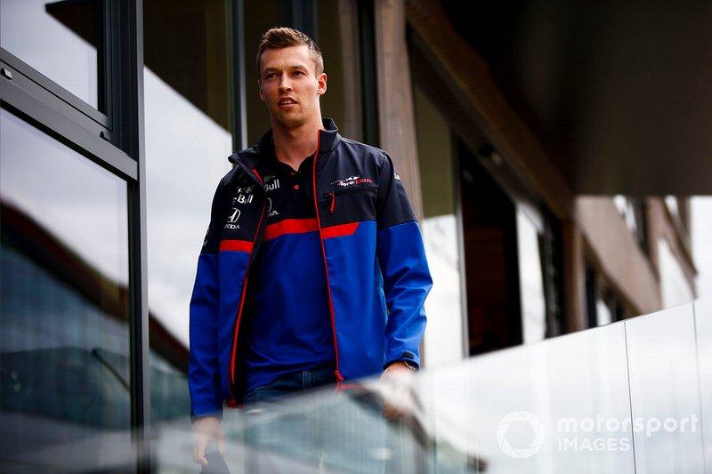 Daniil Kvyat, Toro Rosso in the paddock