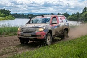 Богдан Булычев и Алексей Кузьмич, Land Cruiser Russia Team, Toyota Land Cruiser 200 (№255)