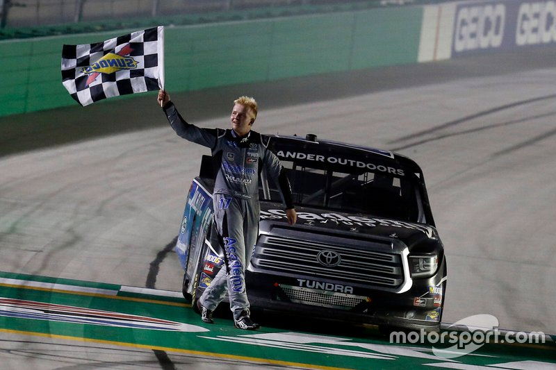 Race Winner Tyler Ankrum, DGR-Crosley, Toyota Tundra Academy Sports + Outdoors