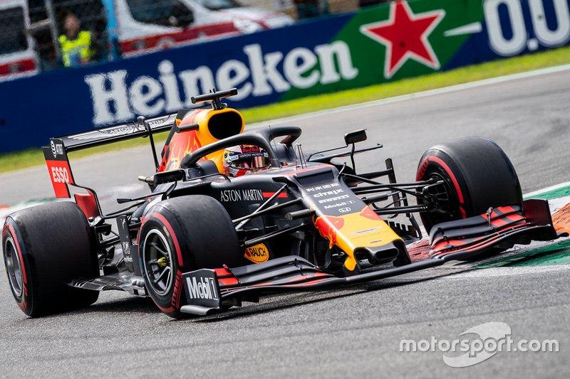 Verstappen tem corrida de recuperação