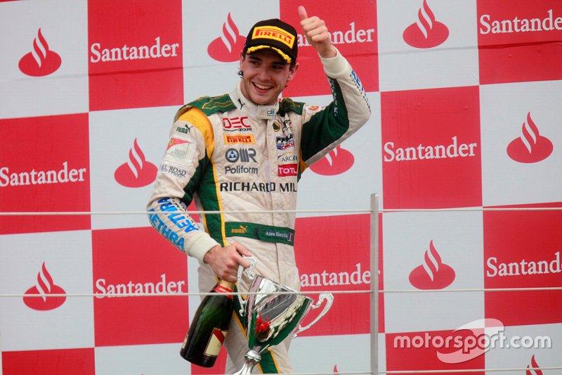 Maiden GP2 win