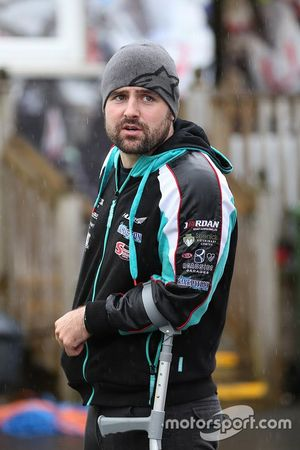Michael Dunlop infortunato