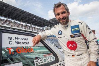 Timo Glock, BMW Team RMG con la BMW E30 DTM