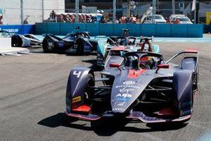 Robin Frijns, Envision Virgin Racing, Audi e-tron FE05 Mitch Evans, Panasonic Jaguar Racing, Jaguar I-Type 3, Gary Paffett, HWA Racelab, VFE-05