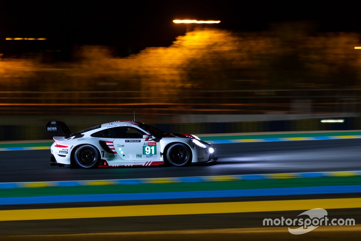 #91 Porsche GT Team - Porsche 911 RSR - 19: Richard Lietz, Gianmaria Bruni, Frédéric Makowiecki