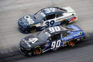 Dexter Bean, DGM Racing, Chevrolet Camaro Sleep Well/Alpha Prime and Ryan Sieg, RSS Racing, Chevrolet Camaro CMRRoofing.com